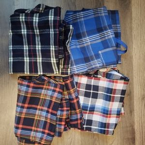 Other - 4 size 5 flannel pants.